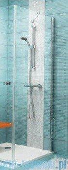 Ravak Ścianka prysznicowa stała SmartLine SMPS-100 Prawa chrom+transparent 9SPA0A00Z1