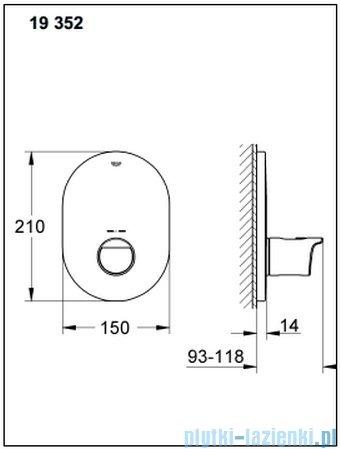 Grohe Grohtherm 2000 NEW bateria centralna z termostatem 19352001