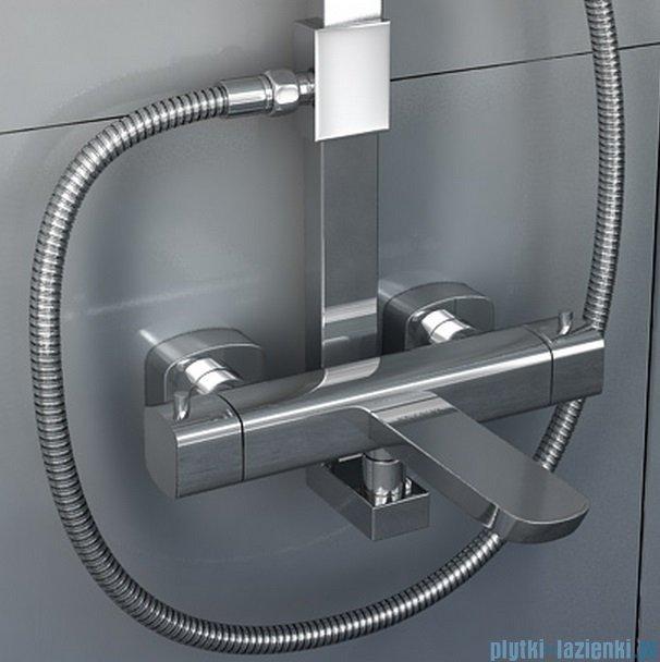 Kohlman Foxal zestaw prysznicowy z baterią termostatyczną QW273F