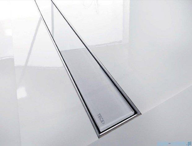 Tece Ruszt prosty ze szkła Tecedrainline 100cm szkło zielone 6.010.90