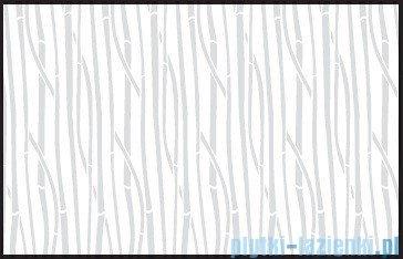 Kermi Cada Kabina ćwierćkolista z drzwiami wahadłowymi, szkło Serigrafie CadaClean 100x100cm CAP4810018VCK