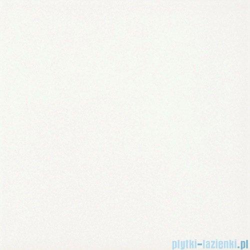 Paradyż Inwest biały matowa płytka podłogowa 19,8x19,8