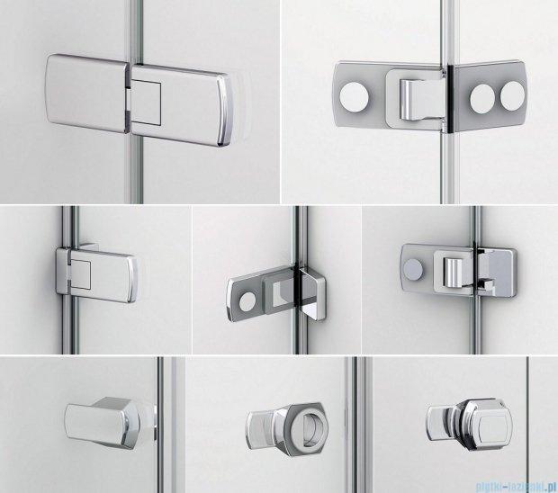 Sanswiss Melia ME32 Drzwi prysznicowe lewe do 200cm przejrzyste ME32PGSM21007