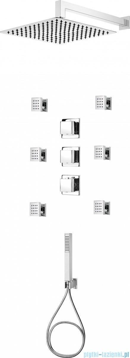 Deante Multi-System komplet podtynkowy chrom NAC 090T