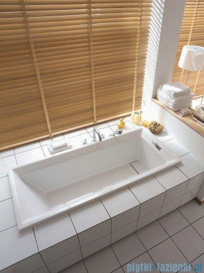 Duravit 2nd floor wanna prostokątna 180x80cm do zabudowy 700076 00 0 00 0000