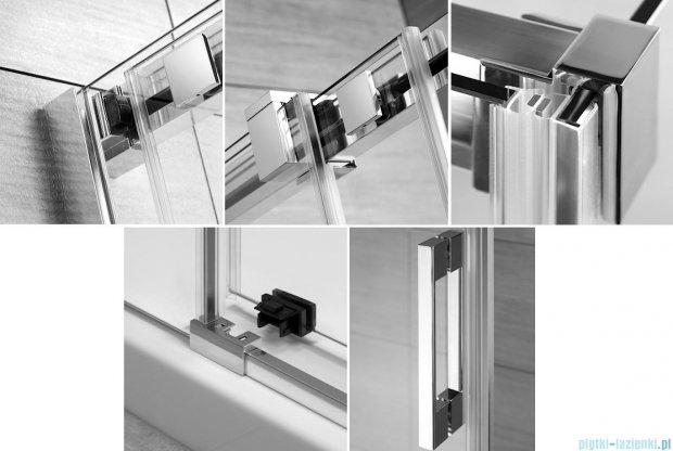 Radaway Espera DWJ Mirror Drzwi wnękowe przesuwne 140 lewe szkło przejrzyste 380114-71L