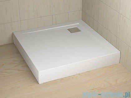 Radaway Obudowa do brodzika Argos 80 aluminium biała 001-510074004