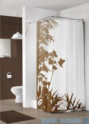 Sealskin Jungle zasłona prysznicowa tekstylna 180x200cm 233171365