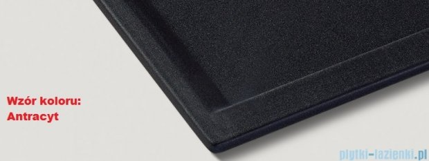 Blanco Zenar 45 S Zlewozmywak Silgranit PuraDur  prawy  kolor: antracyt   z kor. aut. i akcesoriami  519251