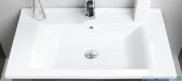 Antado Variete ceramic szafka z umywalką ceramiczną 2 szuflady 72x43x50 czarny połysk FM-AT-442/75/2GT-9017+UCS-AT-75