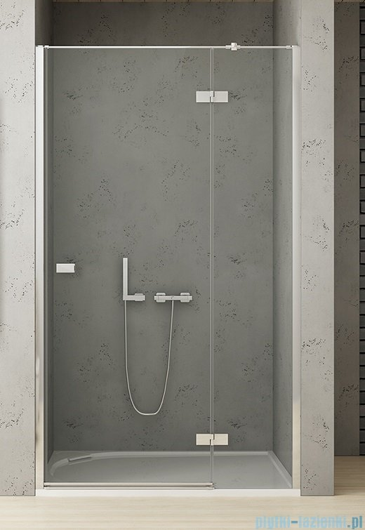 New Trendy Reflexa 110x200 cm drzwi wnękowe prawa przejrzyste EXK-1211