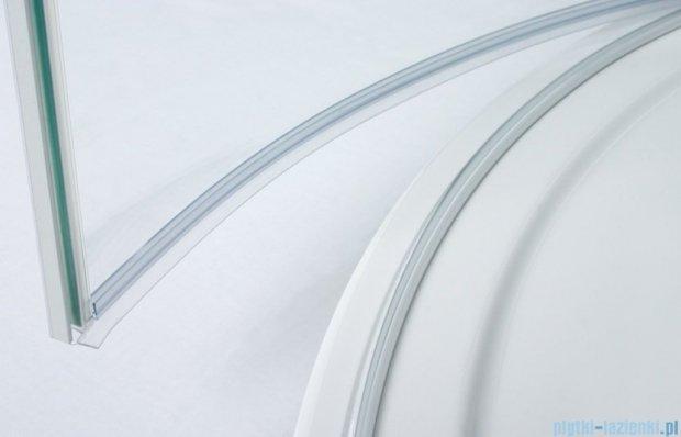Sanplast kabina narożna półokrągła KP4/FREE-90 przejrzyste 90x90x195 cm 600-260-0031-42-401