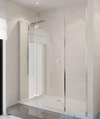New Trendy Modena Plus drzwi prysznicowe 115cm lewe szkło przejrzyste EXK-1028/EXK-1030L