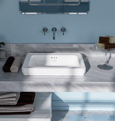 Catalano Canova Royal 60 umywalka nablatowa 60x40 cm biała 160ACV00