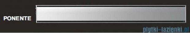 Wiper Odpływ liniowy Premium Ponente 110cm z kołnierzem szlif P1100SPS100