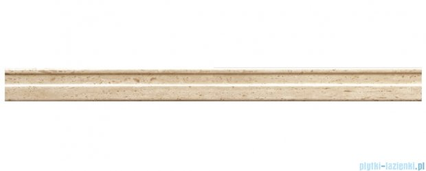 Listwa ścienna Tubądzin Travertine 2B 59,8x4,8