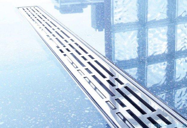 Tece Ruszt prosty Basic ze stali nierdzewnej Tecedrainline 90cm połysk 6.009.10