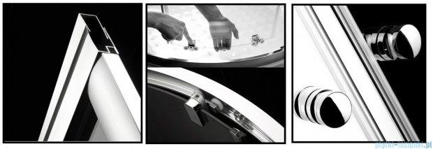 Radaway Premium A Kabina półokrągła 80x80x170 szkło przejrzyste 30411-01-01