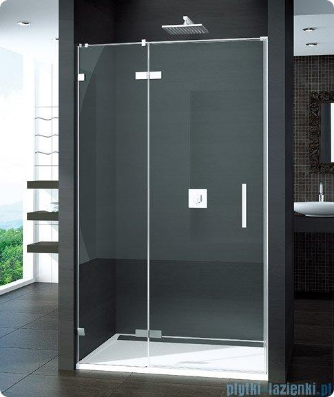 SanSwiss Pur PU13P Drzwi 1-częściowe 100cm profil chrom szkło przejrzyste Lewe PU13PG1001007