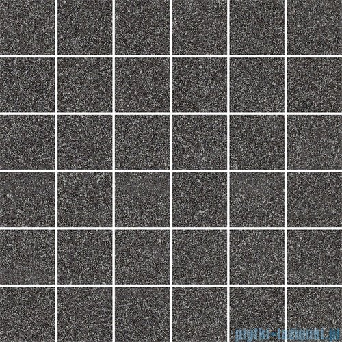 Paradyż Duroteq nero poler mozaika 29,8x29,8