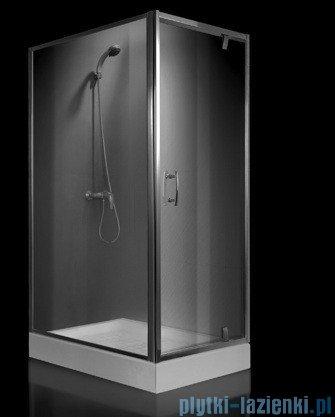 Omnires S kabina prostokątna 80x100x190cm szkło przejrzyste+brodzik S-80/100KTR/3.066