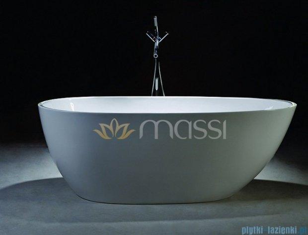 Massi Brevis wanna wolnostająca 170x80 biała MSWA515170