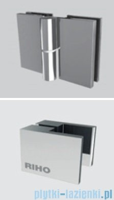 Riho Kabina prysznicowa Scandic Lift M201 100x90x200 cm LEWA GX0206201