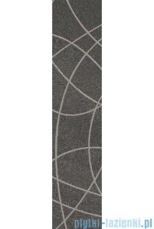 Paradyż Arkesia grafit listwa 9,8x44,8