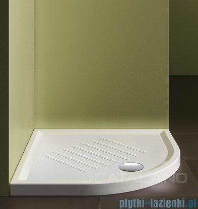 Catalano Verso 90x90 brodzik ceramiczny półokrągły 90x90x6 cm biały 19090AH600