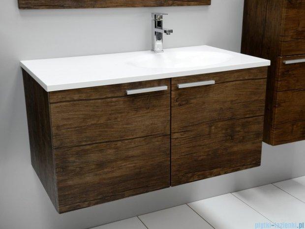 Antado Sycylia Szafka podumywalkowa z szufladą 90x48x45 prawa, stare drewno KTS-140/2-50R