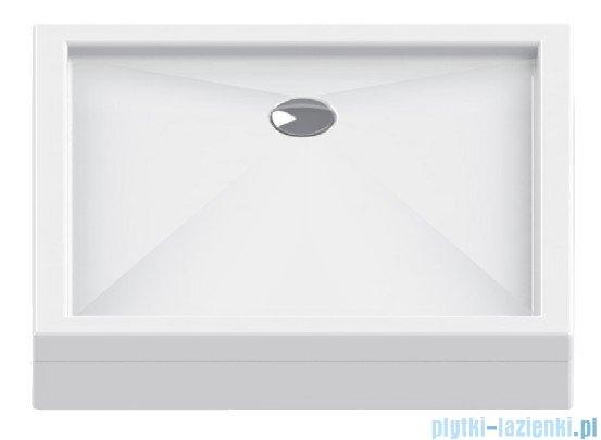 New Trendy Cantare brodzik kwadratowy 80x80x15,5cm B-0321