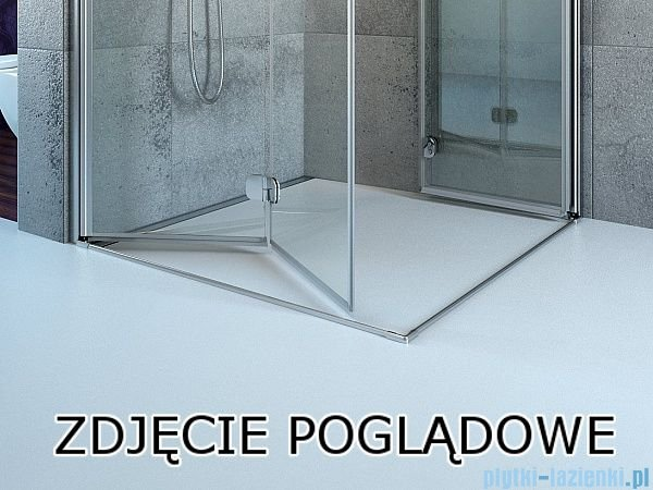 Radaway Eos KDJ kabina prysznicowa 90x90 prawa szkło intimato 37503-01-12NR
