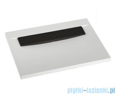 Marmorin Tatoo umywalka nablatowa bez otworu 70,5cm czarna płytka 112071020010