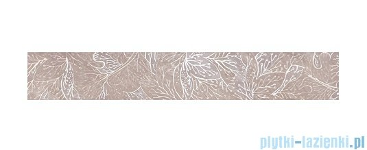 Tubądzin Obsydian grey listwa ścienna 9,8x59,8