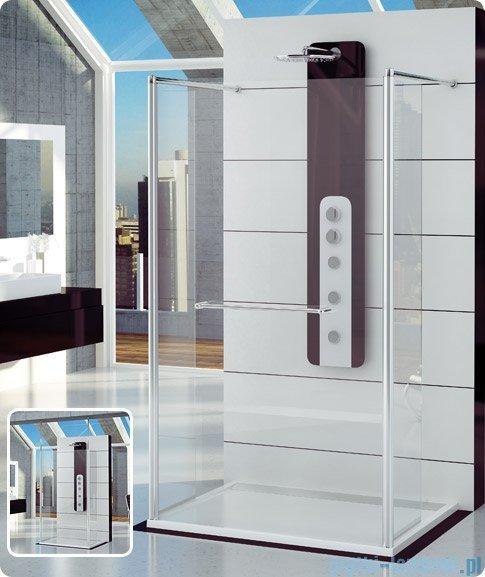 SanSwiss Fun Fut2 Ścianka jednoczęściowa 140cm profil połysk FUT214005007