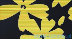 Dekor ścienny Tubądzin Colour Flower Gray 32,7x59,3