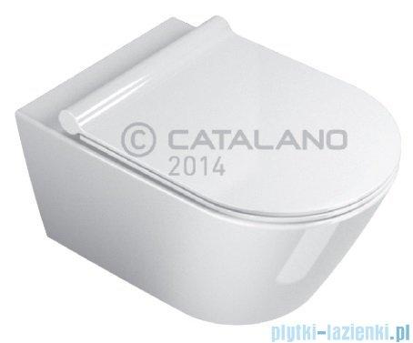 Catalano Zero Wc 55 Newflush miska wisząca bezrantowa 55x35 cm biała 1VS55NR00