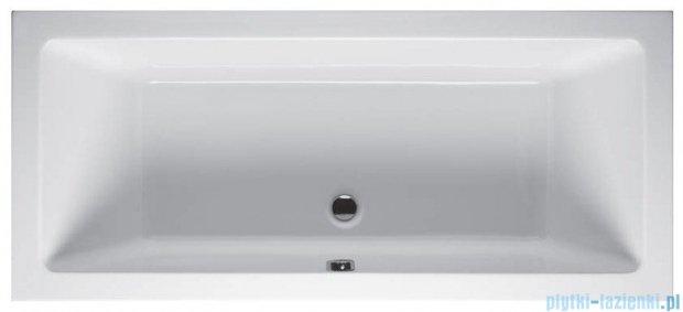 Riho Lusso Wanna prostokątna 190x80 BA59 + nogi + syfon BA59/01U/AMC55