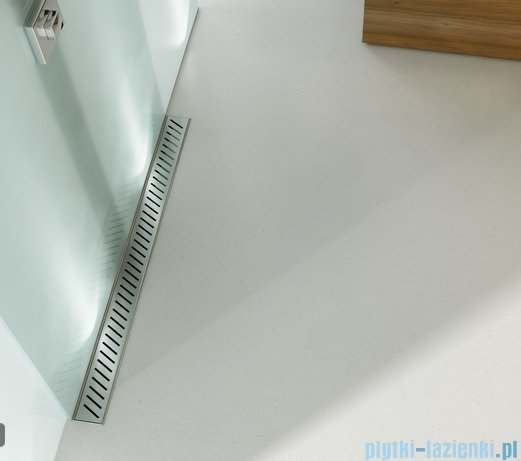 Wiper Odpływ liniowy Premium Zonda 100cm z kołnierzem szlif Z1000SPS100