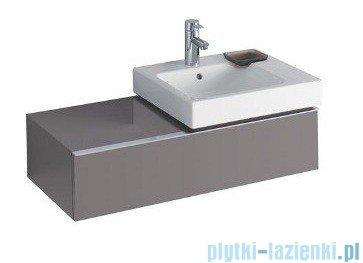 Keramag Icon Szafka wisząca pod umywalkowa 89cm prawa platynowy połysk 840592