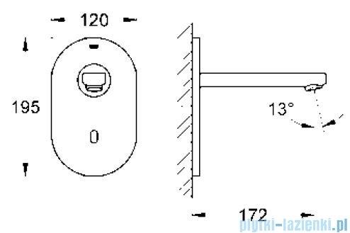 Grohe Eurosmart Cosmopolitan E elektronika do umywalki na podczerwień  36335SD0