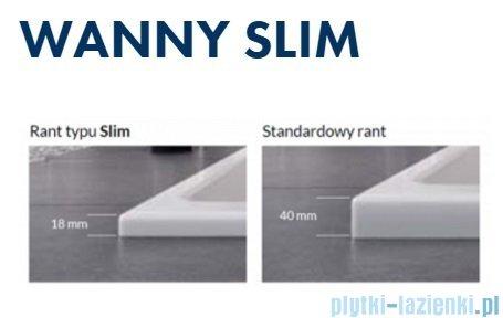 Excellent M-Sfera Slim wanna narożna 160x95 cm biała prawa WAEX.MSP16WHS
