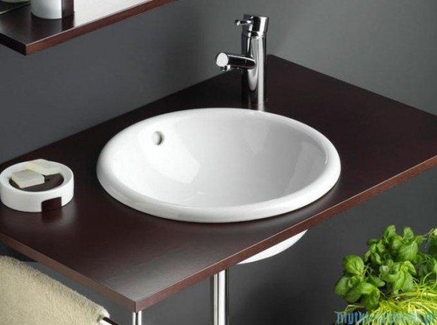 Bathco umywalka blatowa Laredo 40x17,5 cm 0063B