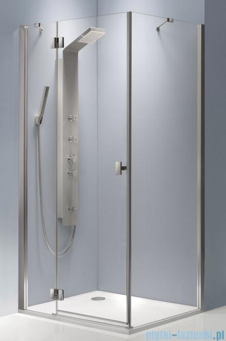 Radaway Essenza KDJ kabina 90x90 lewa szkło przejrzyste + brodzik Delos C + syfon 32802-01-01NL
