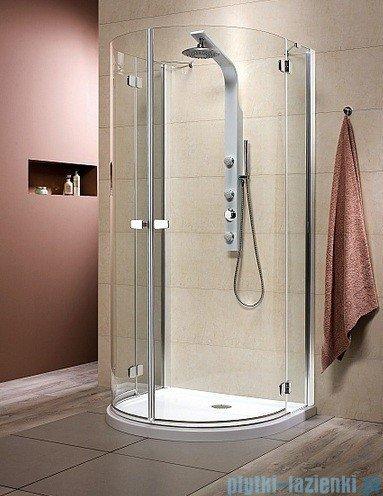Radaway Kabina prysznicowa Fuenta P 100x90 szkło przejrzyste 381011-01N