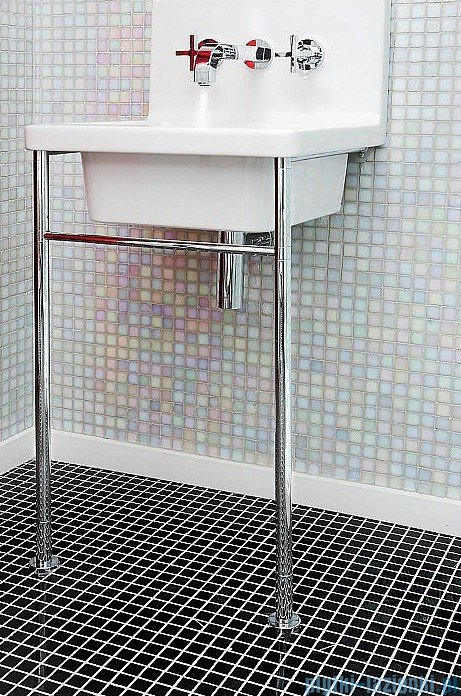 Dunin Black & White mozaika kamienna 30x30 pure B&W radiant 15