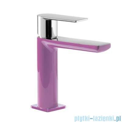 Tres Loft Colors Bateria umywalkowa z korkiem automatycznym kolor fioletowy 200.103.01.VI.D