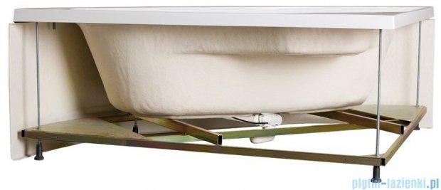 Sanplast Avantgarde wanna prostokątna z obudową WP-kpl-AVII/EX 100x170+SP 610-082-0580-01-000