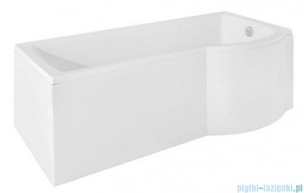 Besco Inspiro 170x70cm Wanna asymetryczna z parawanem prawa #WAI-170-PPR