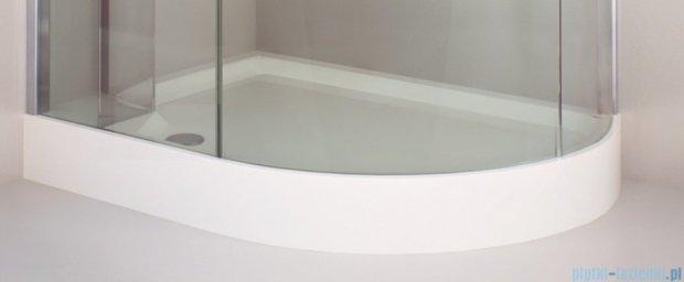 Sea Horse Sigma kabina  Klio lewa 120x85 szkło: grafitowe BK261GL + Brodzik prysznicowy 120 x 85  BKB261L
